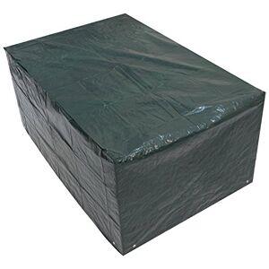 Woodside Bche/Housse de Protection pour Table de Jardin rectangulaire imperméable Vert 1,5 m/5 ft - Publicité