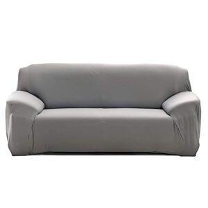 Cornasee Housse de canapé Extensible 4 Places avec accoudoirs,Revtement de Canapé (Gris,4 Places) - Publicité