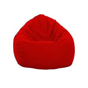ZainBag.de Pouf d'extérieur imperméable et résistant aux intempéries XL  XXL Coussin de sol Coussin d'assise Beanbag Taille adulte enfant Gaming Relax XXXL (rouge, XXXL) - Publicité
