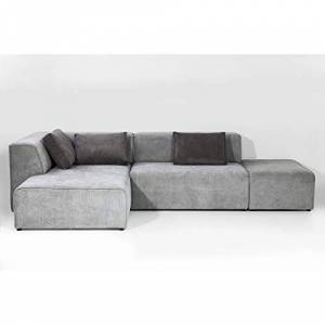 Kare Design Canapé Infinity Antique Ottoman gauche gris - Publicité