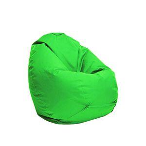 Bruni Pouf pour enfant Classico S vert  Pouf avec sac intérieur pour enfants, housse amovible, perles en polystyrne de qualité alimentaire, remplissage de pouf fabriqué en Allemagne - Publicité