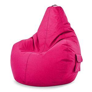 Green Bean Cozy Beanbag Pouf Cozy 80x70x90 cm Remplissage de Perles EPS 230 litres Chaise de Jeu pour intérieur et extérieur, Housse Lavable pour Enfants et Adultes Pink - Publicité