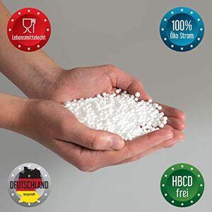 Bruni FILLcloud Pouf Recharge Perles EPS Durable Différentes Tailles Garnissage de pouf Fabriqué en Allemagne - Publicité
