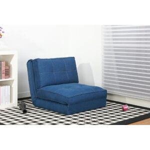 Artdeco fauteuil convertible chauffeuse convertible plusieurs couleurs (grand, bleu jeans) - Publicité