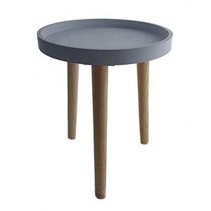 Spetebo Table basse décorative en bois 36x30cm petite table basse - Publicité