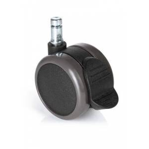 hjh OFFICE 619033 5x ROLO STOP 11mm/65mm Roulette Tissu Noir - Publicité
