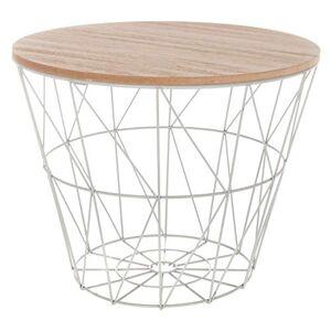 ATMOSPHERA CREATEUR D'INTERIEUR Atmosphera Table café métal Gris Kumi - Publicité