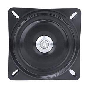 Hztyyier Plateau Tournant/Support Rotatif  360, Roulement  Billes Plateau pour Tabouret et Chaise de Bar, Noir, 150 * 150 * 2mm - Publicité