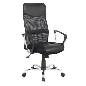 SixBros. Chaise de Bureau Fauteuil de Bureau pivotant Noir 139PM/1319 - Publicité