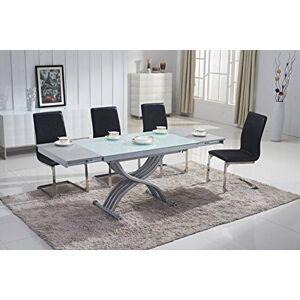 Mobilier Deco Table Basse relevable en Verre avec rallonge (Table Transformable) - Publicité