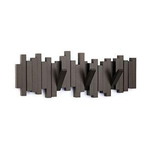 Umbra Porte Manteaux Mural Sticks Design Espresso 49x18x03cm - Publicité