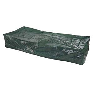 Mendler Housse de Protection pour transat Bain de Soleil Chaise Longue, 200x85x40cm ~ polyéthylne - Publicité