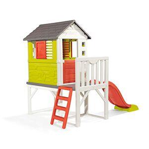 Smoby Maison Pilotis Cabane de Jardin Enfant Toboggan + Echelle 810800 - Publicité