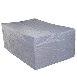 Mendler Housse de Protection pour Garniture de Jardin, Gaine de Protection, Gris ~ 75x180x120cm - Publicité