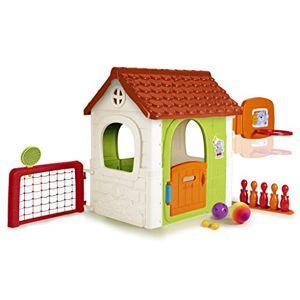 Feber Multi Activity House 6-in-1, maison de jardin avec six jeux (Famosa 800012606) - Publicité