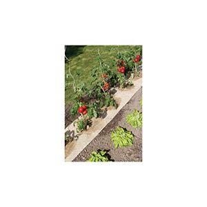 Nortene Paillage Naturel pour Jardin et Potager 100% biodégradable 95 x 500 cm 750 g/m2 - Publicité