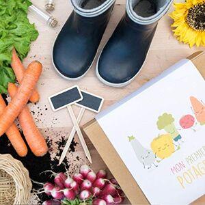 Cultiversonjardin.fr Coffret Cadeau de Jardinage pour Enfants // Box de Légumes Mon Premier Potager - Publicité