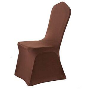 Ymysfit 1 Pice Couverture Housses de Chaise lastique pour Mariage d'Htel Banque Couleur Unie Taille Unique - Publicité