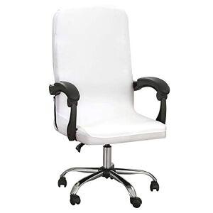 Cysincos Housse de Chaise de Bureau Universelle Housses de Fauteuil Extensibles Fauteuil De Direction Confortable - Publicité