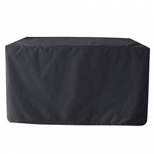 XXYANZI Housse Table de Jardin 244x244x90cm, Rectangulaire Imperméable, Résistant  la Déchirure Couverture tanche pour Chaise Jardin Exterieur. Noir - Publicité