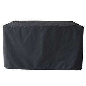 XXYANZI Housse de Table de Jardin 255x255x80cm, Rectangulaire Imperméable Anti-UV Couverture tanche pour Abri Barbecue. Noir - Publicité