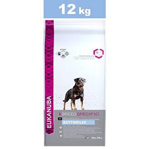 Eukanuba Croquettes Premium pour Chiens Rottweiler, Dogue de Bordeaux, Cane Corso, Dogue Argentin, Rhodesian Ridgeback Recommandé par les vétérinaires 100% Compltes et Equilibrées -Poulet 12kg - Publicité