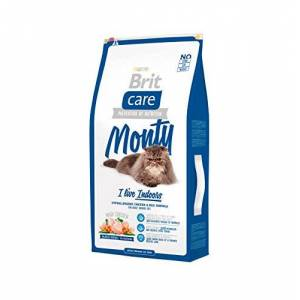 Brit Care Cat Monty I'm Living Indoor Croquette pour Chat Adulte 7 kg - Publicité