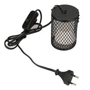 Garsent Lampes Chauffantes Reptile, 100W Ampoule Infrarouge Chauffante en Céramique avec Support de Protection Lampe Chauffante Terrarium pour Reptiles et Amphibiens.(Noir) - Publicité