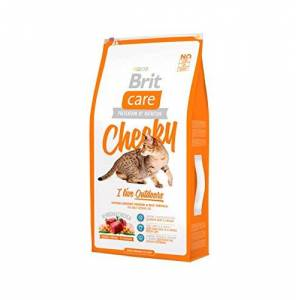 Brit Care Cat Cheeky I'm Living Outdoor Croquette pour Chat Adulte 7 kg - Publicité