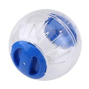 Ponacat Hamster Ballon d'exercice 12 Cm Nouvelle Mode en Plastique Petit Hamster Gerbille Animal de Compagnie Jogging Jouet Ballon d'exercice (Bleu) - Publicité