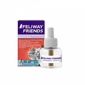 Feliway Friends Recharge Flacon 30 Jours, 48 ml, Harmonie Entre Chats - Publicité