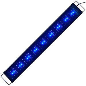 Aquarien ECO Aquarium Eclairage  Aquarium Lumiere Aquarium lampe blanc bleu 90cm 2835SMD 20W pour aquarium 90cm-115cm - Publicité