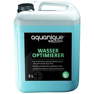 AQUANIQUE conditionneur d'eau 5 L, purificateur d'eau pour l'aquarium, pour 20.000 litres, Produits d'entretien de l'eau, Entretien de l'aquarium - Publicité