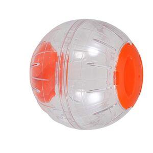POPETPOP Ballon d'exercice de Course de Balle de Hamster Mini-Balle de Course Autour du Petit Animal de Compagnie (Orange) - Publicité