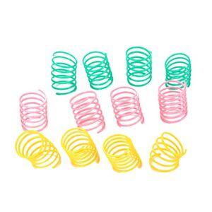 UKCOCO 8Pcs Jouets Colorés de Chat de Ressorts, Jouets Drles de Printemps Chaton, Jouets  Ressort en Plastique pour Petits et Moyens Chats (Couleur Aléatoire) - Publicité