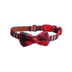 Minsa Collier de dressage doux et réglable pour chiens de petite, moyenne et grande taille 2 x 30 ~ 45 cm (rouge 2) - Publicité