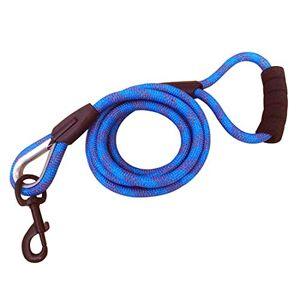 HEI SHOP Chien Laisse Dressage Longue Sécurité Corde d'escalade éducative Premium Laisse Moyen Grand Chien Retriever Leash 2M 3M 5M 10M Corde Traction Robuste Plomb Animalerie (15m, Bleu) - Publicité