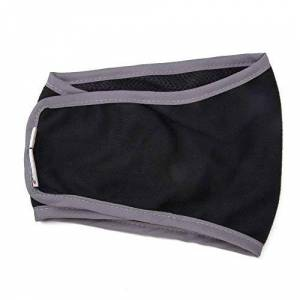Ogquaton Couches De Chien Couches Réutilisables Culottes Sanitaires pour Homme Femelle Animal D'absorption Coton Respirant Nappy Noir - Publicité