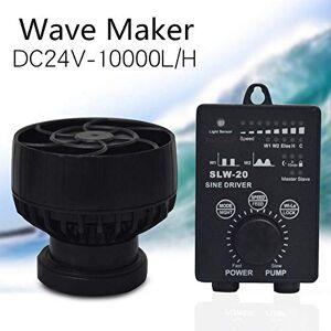 XD7 Pompe de débit d'aquarium Jebao SLW-20, 24V / 20W Wave Maker Pompe de Vague Pompe de débit Pompe de Circulation d'eau Débit Maximal de la Pompe 10000L / H, IPX8 étanche - Publicité
