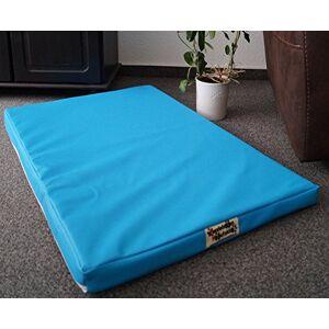 Hundebettenmanufaktur Matelas pour chien/ tapis de panier pour chien- Housse en similicuir et mousse de 5 cm- Disponible en différentes couleurs et tailles - Publicité