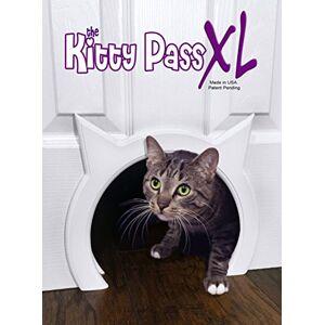 The Kitty Pass XL Grande porte pour chat Intérieur Grande litire cachée - Publicité
