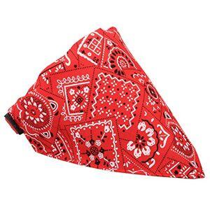 ZYUEER Foulard pour Chien, Chien de Mode Bandana Collier Chien Collier garon Moyen Bandana Chiot Bandana Collier Chiens (S, Rouge) - Publicité