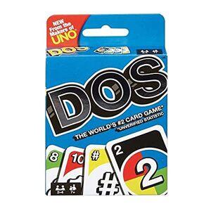 Mattel Games Dos, Jeu de Cartes de l'UNO, âge recommandé 7-10 Ans (Mattel FRM36) - Publicité