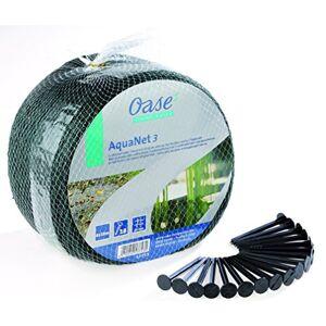 Oase 53753 Aquanet pond net 3, protection idéale des étangs contre les chutes de feuilles et de feuilles mortes, convient aux étangs jusqu' max. 6 x 10m - Publicité