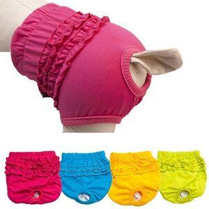 strimusimak Culotte hygiénique en dentelle pour chien et chien - Publicité