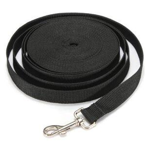 YOHAPPY Laisse de dressage pour chien Longue corde de 10 m de long Laisse en nylon solide pour le camping et le dressage - Publicité