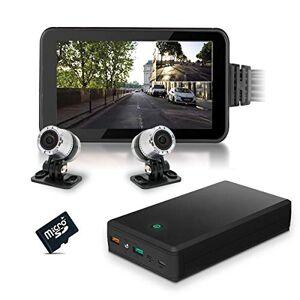 Active Media Concept Kit vidéosurveillance Anti vandalisme véhicule Auto Moto avec 2 caméras HD Longue autonomie mémoire 128 Go - Publicité