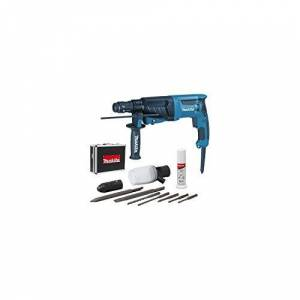 Makita HR2630TX4 Perfo-burineur SDS-Plus 800 W 26 mm (coffret alu + kit d'accessoires) - Publicité