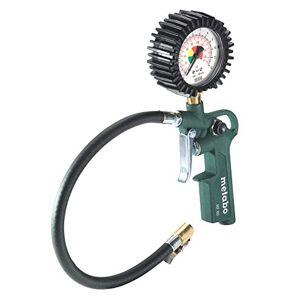Metabo 602233000 602233000-Inflador/medidor de presión de neumáticos RF 60 Longitud de manguera 35 cm, Vert - Publicité
