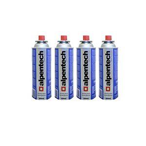 Alpentech Cartouche gaz camping 4 x 227g  butane UN2037 Recharges pour Désherbeurs Réchauds et Lampes camping - Publicité